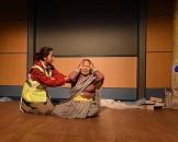 नाटक भरिकै एउटा बेजोड दृश्यमा दिपिका श्रेष्ठ र नादिया लिवाङ्ग