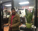 Shailesh Shrestha at Pasang Stylist