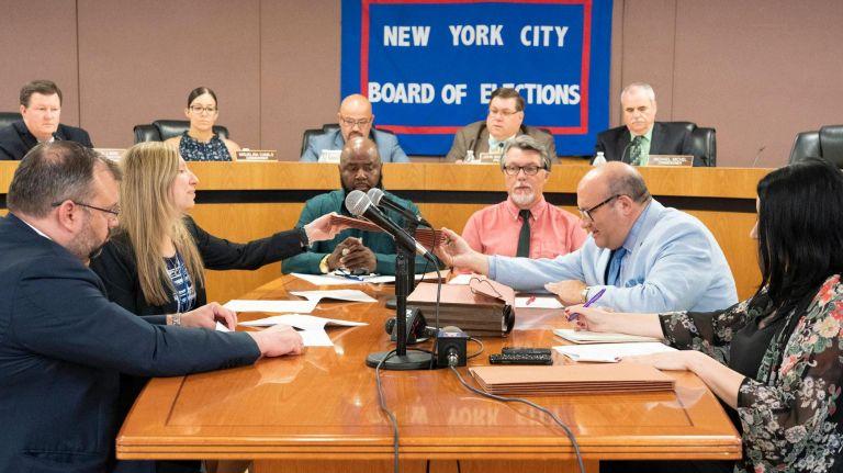NY Board of Election